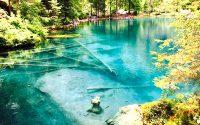 BLAUSEE LAKE (BLUE LAKE) ทะเลสาบเบลาเซ